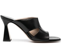 Mules mit Cut-Outs