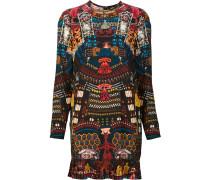 Kleid mit japanischem Print