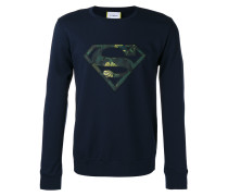 'Superman' Sweatshirt mit Logodetail