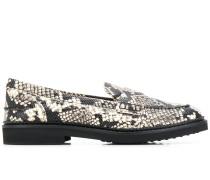 Loafer mit Schlangen-Effekt