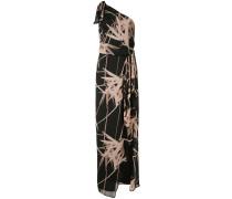 Kleid mit asymmetrischem Ausschnitt