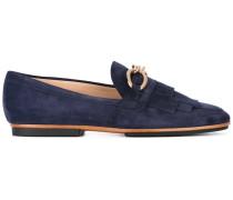 - Loafer mit Fransen - women - Leder/Wildleder