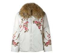 floral embroidery jackets