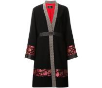 Kimono-Wollmantel