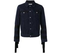 Jeansjacke mit Zierbändern - men - Baumwolle - M