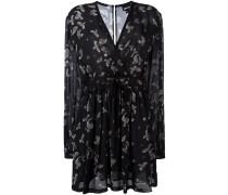 Kleid mit Adler-Prints
