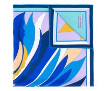 Seidenschal mit abstraktem Print - women
