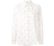 - Bluse mit Flamingo-Print - women - Baumwolle - 6
