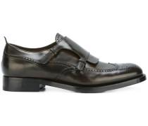 Monk-Schuhe in Budapester-Optik