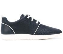 - contrast sole sneakers - men
