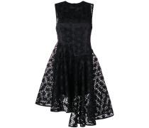 laser cut asymmetric dress