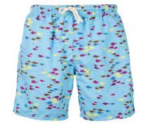 fish print swim shorts - men - Polyester - S