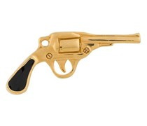 Ohrstecker mit Pistolen
