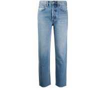 'Gilda' Cropped-Jeans
