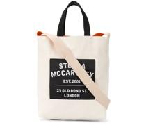Shopper mit Logo-Patch