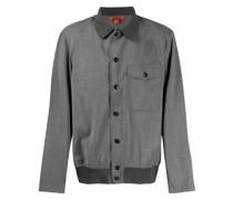 Hemdjacke mit elastischem Saum
