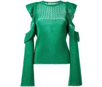 Pullover mit Rüschen - women - Baumwolle - 40