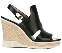 Sandalen mit WedgeAbsatz
