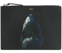 shark print pouch