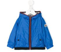 a hooded jacket