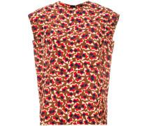 geometric patterned blouse