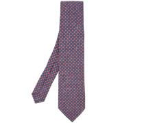 Gepunktete Krawatte - men - Leinen/Flachs
