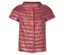padded short sleeved jacket