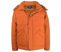 Downdrift down-filled hooded jacket