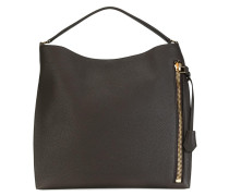 Handtasche mit Reißverschlussfach