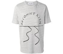 - 'Deconnexion' T-Shirt - men - Baumwolle - XS