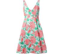 Jacquard-Kleid mit Blumenmuster - women