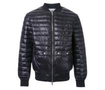 Wattierte Jacke mit Reißverschluss