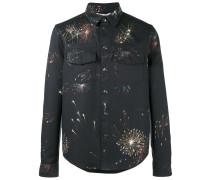 Jacke mit Feuerwerk-Print - men