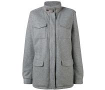 - Mantel mit mehreren Taschen - women