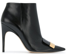 point-toe ankle boots