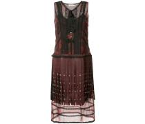 Kleid im Lagen-Look mit Fransen