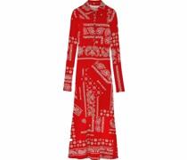 Kleid mit Bandana-Print