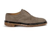 Oxford-Schuhe mit breiter Sohle