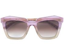 Sonnenbrille mit breiten Gläsern
