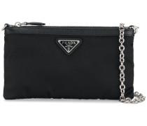 Saffiano clutch bag