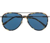 Pilotenbrille in Schildpattoptik