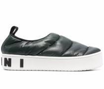 Gepolsterte Slip-On-Sneakers