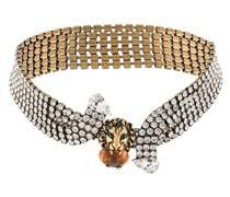 Halskette mit Kristallen