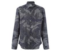 Hemd mit abstraktem Camouflage-Muster