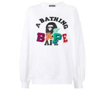 A BATHING APE® Sweatshirt mit Logo