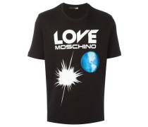 "T-Shirt mit ""Earth""-Print"