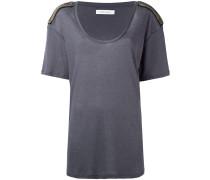 T-Shirt mit Schulterklappen