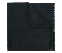Fein gemusterter Schal mit ausgefransten Kanten