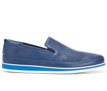Loafer mit perforierter Front