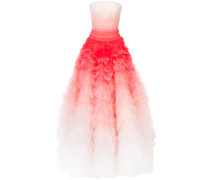 ombre flared gown